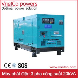 Máy phát điện 3 pha 20kVA
