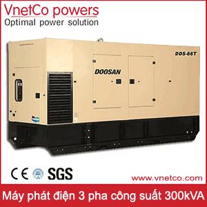 Máy phát điện 3 pha 300kVA