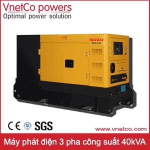 Máy phát điện 3 pha 40kVA