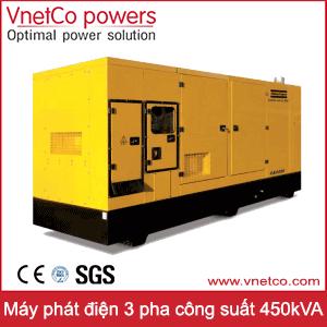 Máy phát điện 3 pha 450kVA