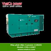 Máy phát điện CUMMINS 110kva CDS-110kT