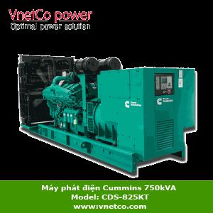 Máy phát điện Cummins 750kVA Model CDS-825KT