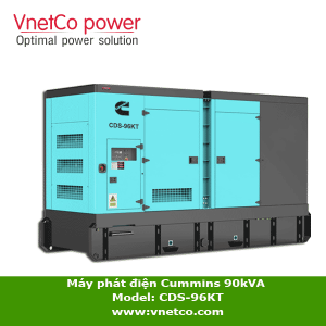 Máy phát điện CUMMINS 90kva CDS-96kT