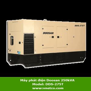 Máy phát điện Doosan 250kVA DDS-275T