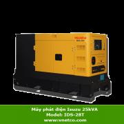 Máy phát điện ISUZU 25kva IDS-28T
