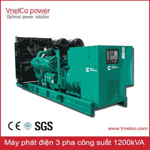 Máy phát điện 1200kVA 3 pha