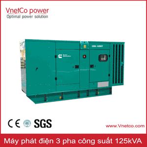 Máy phát điện 125kVA 3 pha