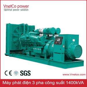 Máy phát điện 1400kVA 3 pha