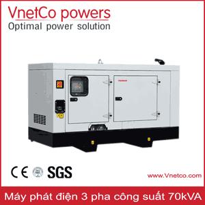 Máy phát điện 70kVA 3 pha