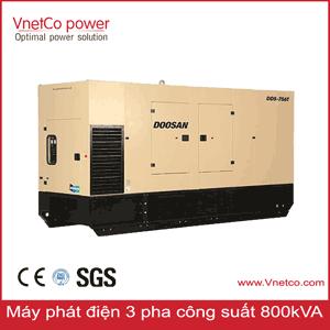 Máy phát điện 800kVA 3 pha