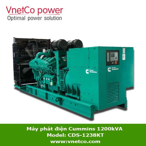 Máy phát điện Cummins 1200kVA CDS-1238KT
