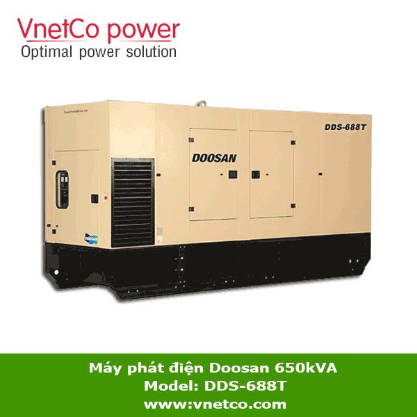 Máy phát điện Doosan 650kVA DDS-688T