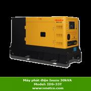 Máy phát điện Isuzu 30KVA IDS-33T