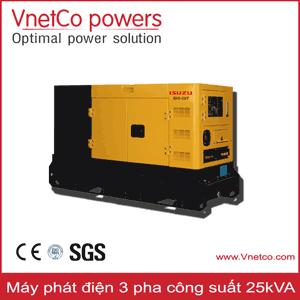 Máy phát điện 25kVA 3pha