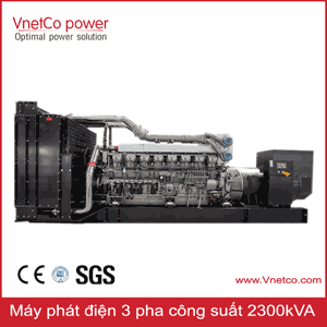 Máy phát điện 3 pha 2300kva, Các hãng