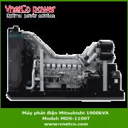 Máy phát điện mitsubishi 1000kVA MDS-1100T