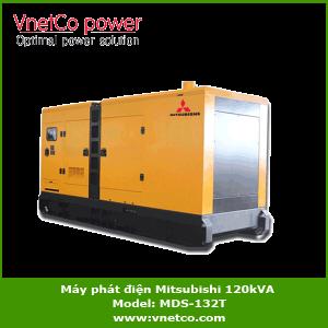 Máy phát điện Mitsubishi 120kVA, MDS-132T