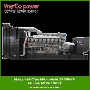 Máy phát điện mitsubishi 1800kVA MDS-1900T