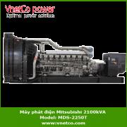 Máy phát điện mitsubishi 2100kVA MDS-2250T
