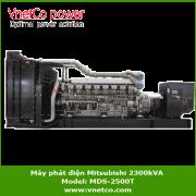 Máy phát điện mitsubishi 2300kVA MDS-2500T