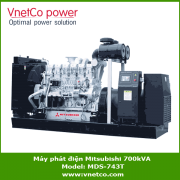 Máy phát điện mitsubishi 700kva MDS-743T