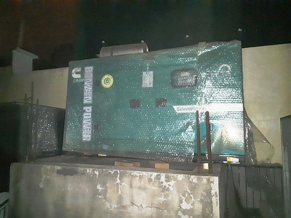 Hoàn thành lắp đặt máy phát điện Cummins Ấn Độ 30kVA tại Tràng Thi Hà Nội