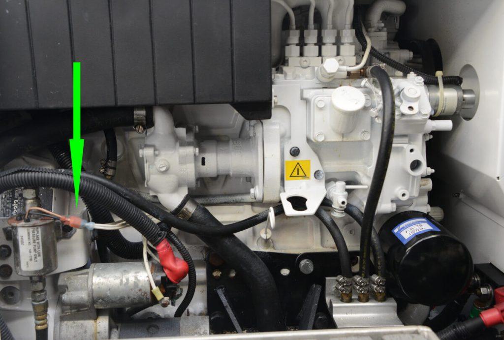 Hệ thống nhiên liệu máy phát điện bị lỗi