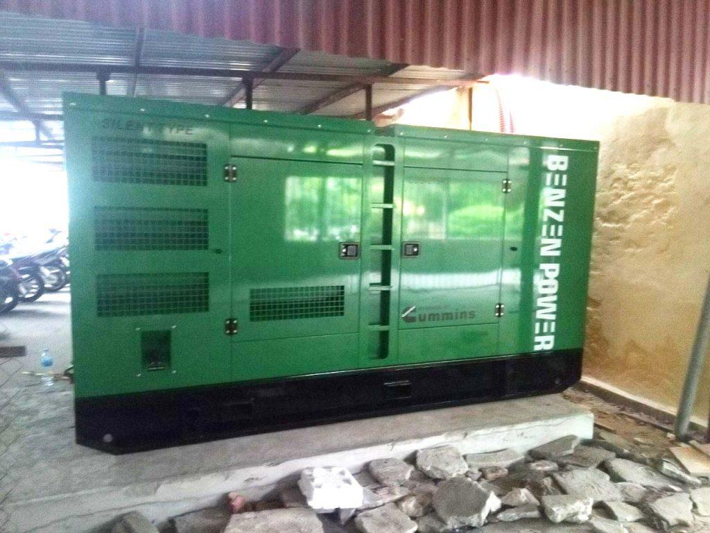 Hoàn thành dự án máy phát điện tại tỉnh Hải Dương