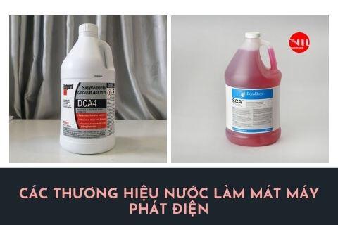 Các sản phẩm dung dịch nước làm mát máy phát điện