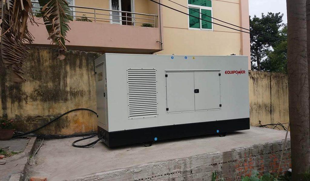 Máy phát điện Iveco 250kVA chạy dự phòng cho chung cư