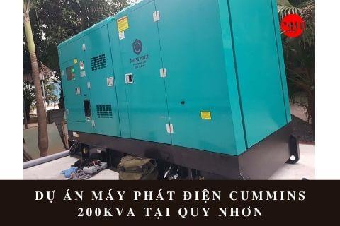 Dự án máy phát điện Cummins 200kVA tại Quy Nhơn