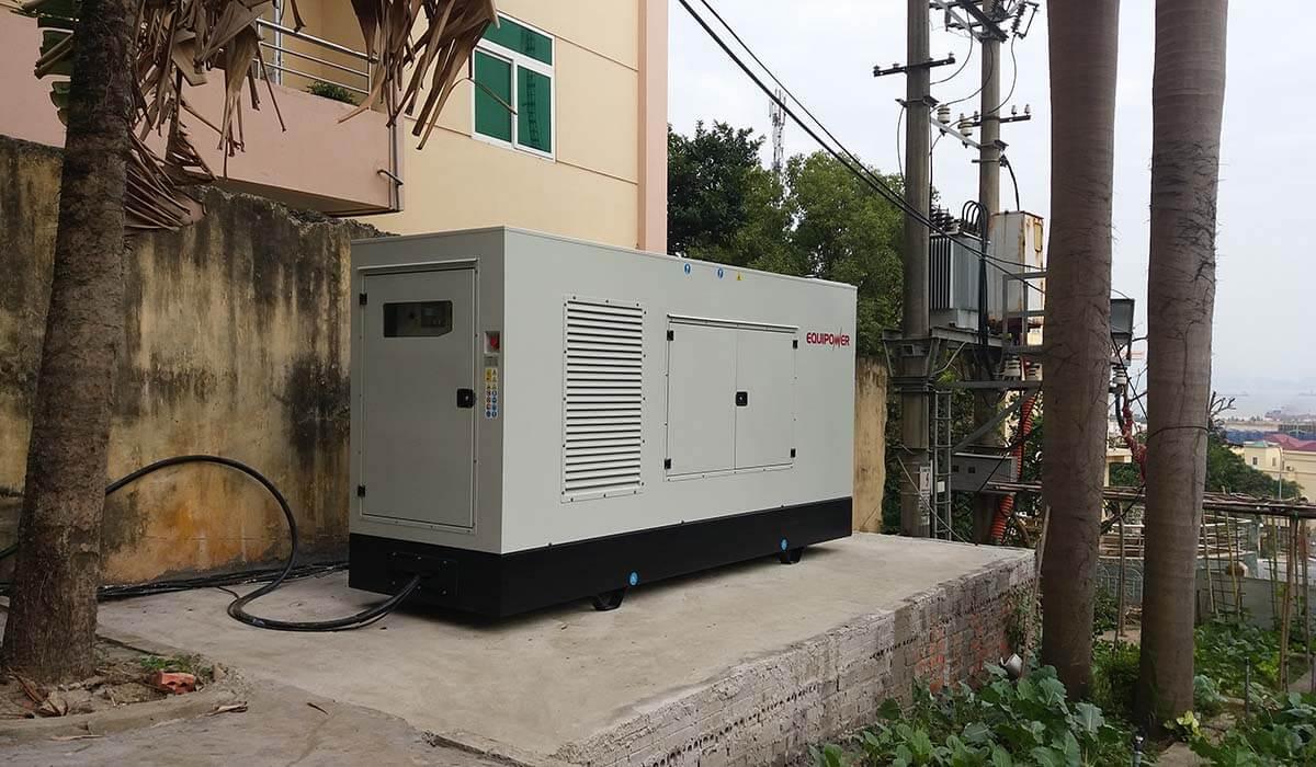 Dự án máy phát điện đề nỏ lắp đặt tòa chung cư tại Hà Nội của Nhật Trường Minh Power
