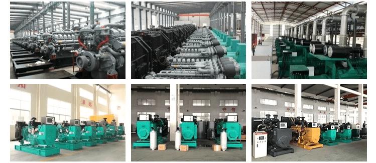Máy phát điện nhập khẩu nguyên chiếc từ nhà máy sản xuất