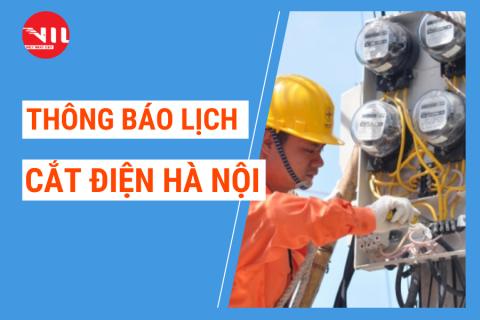 Lịch cắt điện Hà Nội trong 3 ngày tới – Cập nhật mới nhất