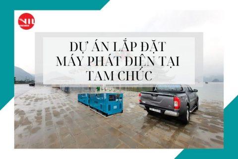 Dự án máy phát điện tại Hà Nam là dự án lớn nhất của Vnetco Power đầu năm 2021