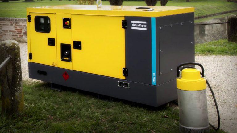 Máy phát điện cách âm Atlas Copco – Thương hiệu số 1 về máy phát điện siêu chống ồn