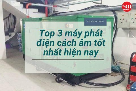 MỚI NHẤT: Top 3 máy phát điện cách âm tốt nhất hiện nay